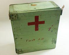 Vintage Primitive Handmade First Aid by buckeyesandbluegrass, $42.00