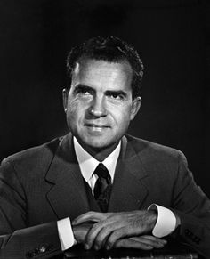 A young Richard Nixon during his early congressional career (c. 1950). Pinned from a board called Iconic People.
