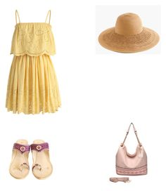 Bez tytułu #91 by wiki208 on Polyvore featuring moda, Chicwish, MKF Collection and J.Crew