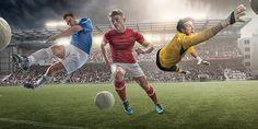 Fußball-Helden – Foto