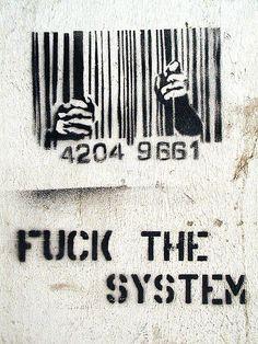 Stencil : Fuck the System!
