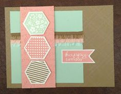 Stamping With Sass: 2013 Convention Swaps - Banner Greetings (hostess) & Six-Sided Sampler stamp sets