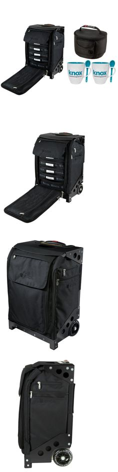 Other Ice Skating 4939: Zuca Flyer Artist Case, Black W. Black Frame And Gift Lunchbox + 2 Coffee Mugs Set -> BUY IT NOW ONLY: $355 on eBay!