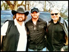 """@ColtFord, @BrantleyGilbert and Mike Dekle celebrating their number one, """"Country Must Be Country Wide."""""""