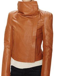 Chloe Leather Moto Jacket on Gilt