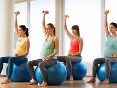 Pregnancy Exercise Tips for Normal Delivery. A lot of women think that just because they are pregnant, they are not supposed to exercise. Exercise When Pregnant, Yoga For Pregnant Women, Exercise During Pregnancy, Pregnant Mom, Pregnancy Workout, Pregnancy Fitness, Pregnant Outfits, Best Pregnancy Test, Post Pregnancy