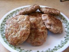 Home made Turkey Sausage! Making these right now to pop in freezer!