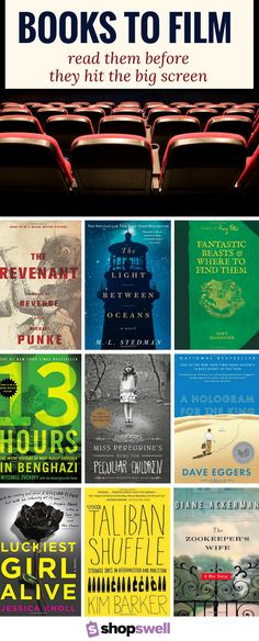 Everyone knows the book is always better than the movie. Click-through for the reading list!