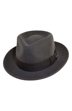 Scala  Classico  Wool Felt Fedora available at  Nordstrom Cascos e21f068a8a7