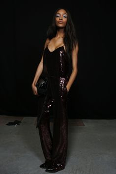The ultimate party piece - we can see ourselves dancing the night away in this shimmering sequin jumpsuit! #Topshop