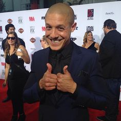 Theo Rossi- Red Carpet Final Ride