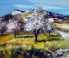 Michel Vezinet Drawing Block, Tuscany Landscape, Oil Painting Techniques, Italian Painters, Tree Art, Traditional Art, Painting Inspiration, Impressionism, Nature