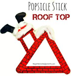 'Up on the House Top' was one of my favorite Christmas songs growing up. After playing it repeatedly the other day, we were inspired to make a few roof top art projects and a craft. Here…Continue Reading…