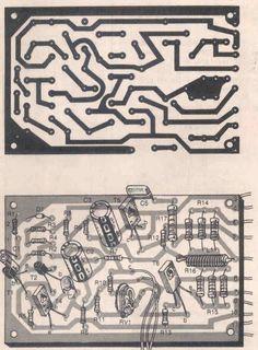 Módulo de potência Profissional 90 a 130 watts 2 Módulo de potência Profissional 90 a 130 watts RMS em 8 ohms por canal circuito amplificador