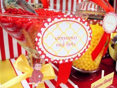 Hostess with the Mostess® - Curious George 1st Birthday Party