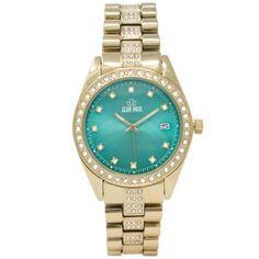 Jean Paul 44mm Gold , Diamond Ice Men's Watch