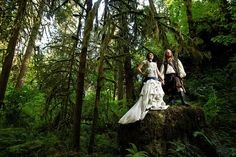 i always thought of something like this with your wedding. maybe not the costumes but def the fairy tale heavy metal wedding part!