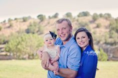 Family of 3   9 Month Girl   Amarillo TX    Photo by A Shields Photography