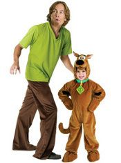 Scooby-Doo and Shaggy Daddy and Me Costumes