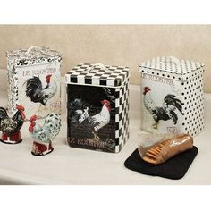 rooster kitchen decor | Noir Le Rooster Decorative Metal Kitchen ... | Rooster/Chicken Decor