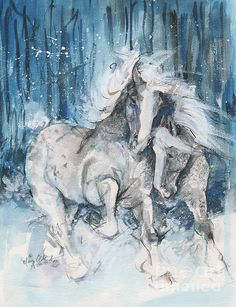Snow Horses by Mary Armstrong
