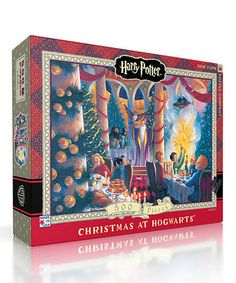Love this Harry Potter Christmas at Hogwarts 500-Piece Puzzle on #zulily! #zulilyfinds