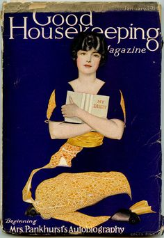 My diary; Phillips, Coles (cover illus).    Good Housekeeping. 1914 - 01 (January).    vintage