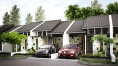 Tipe 42, Bumi Adipura Town House, Small House Design, Exterior Design, House Plans, Real Estate, Homes, Graphic Design, Architecture, Nice