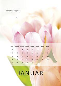 2013 calender january. Katrine Anitas magiske verden: Kalender: Januar