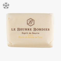 Beurre de baratte au Yuzu - Le Beurre Bordier - Find this product on Bon Marché website - La Grande Epicerie de Paris