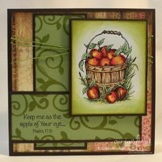 Apple of your eye by Alshandra - Cards and Paper Crafts at Splitcoaststampers