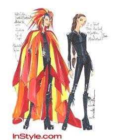 Los diseños, que se pueden encontrar en un apartado exclusivo de la página, aglutinan las diferentes visiones que tienen artistas de renombre como Nicolle Miller o Christian Siriano sobre la vestimenta en cuestión, ofreciendo apuntes sobre el tipo de tela, la caída e incluso sus referencias para la confección.