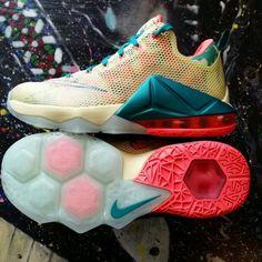 $345 Nike Lebron XII 12 Low PRM Premium Lebronold Palmer QS Size 7 Lebronald #Nike #BasketballShoes
