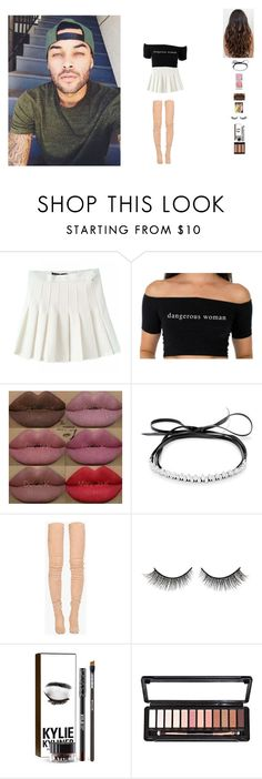 """""""hanging out with Don"""" by unicorn-923 ❤ liked on Polyvore featuring Kylie Cosmetics, Fallon, Balmain and Rimini"""