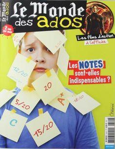 Le Monde des Ados - N°333 Les notes sont-elles indispensables ? Les films d'action à l'affiche Dossier : enfin la vérité sur les requins