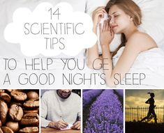 Try these 14 scientific hacks to help you get a better night's sleep.