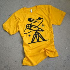 Image of Comsos Tee / Solar Gold