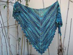 Ravelry: Aurelie Shawl pattern by Sara Kay: Knit and Crochet