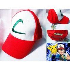 27cc62bbd39 Pokemon Pocket Monster Ash Ketchum Cotton Summer Baseball Adjustable Hat Cap  Big C For Adult Men Women-in Baseball Caps from Men s Clothing    Accessories on ...