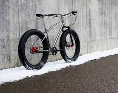 Вышел велосипед для русской зимы