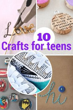 10 terrific crafts for teens & tweens that don't suck!