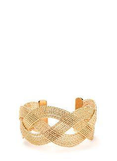 Better Braided Wire Cuff Bracelet