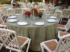 Naranja, floral, boda, mesa de boda, Finca la Concepcion