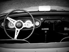 Auto  zwart/wit fotografie