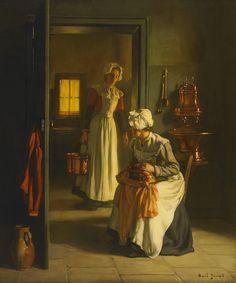henri tanoux les dentellieres.fr - Google zoeken  Joseph Bail (1862-1921) - In the Kitchen