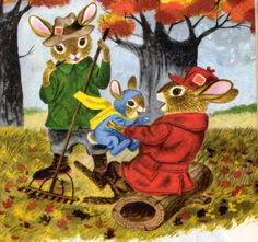 Richard Scarry.  from The Bunny Book Wow that brings my past swooshing up to greet me. Love it.