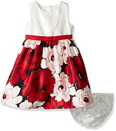 Gymboree Little Girls  Toddler Floral Holiday Dress Multi 2T >>> Read more reviews of the product by visiting the link on the image.Note:It is affiliate link to Amazon.
