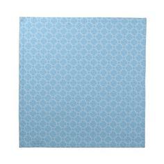 Blue Print Cloth Napkin