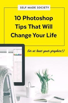 10 Photoshop TipGIFs That Will Change Your Life (or, at least your graphics.) — Made Vibrant #photoshop #design #tipgif