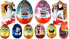 20 Surprise eggs Disney Pixar Cars2 Mickey Mouse Hello Kitty MAXI Batman Penguins Of Madagascar https://www.youtube.com/watch?v=RnqEmSmdfhk